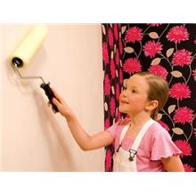 How to Hang Paste the Wall Wallcoverings
