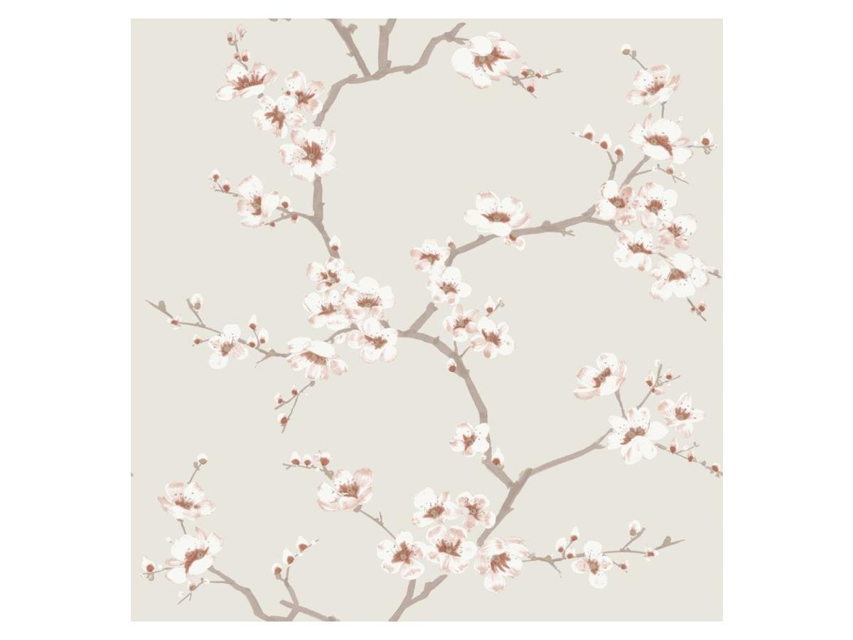Graham And Brown Fresca Wallpaper Apple Blossom 108291 Burnt Orange
