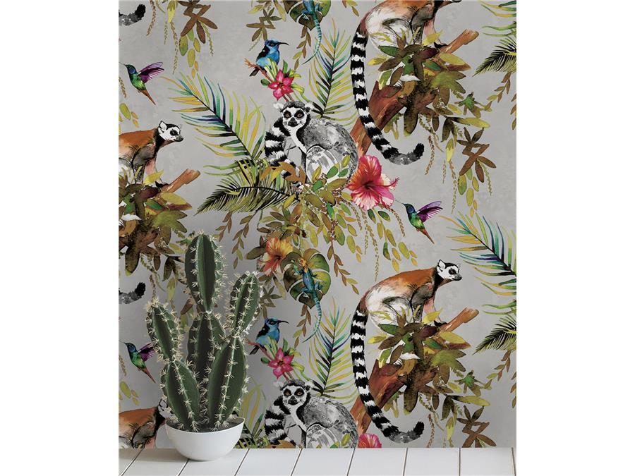 Holden Statement Feature Wallpapers Lemur 12401 Silver