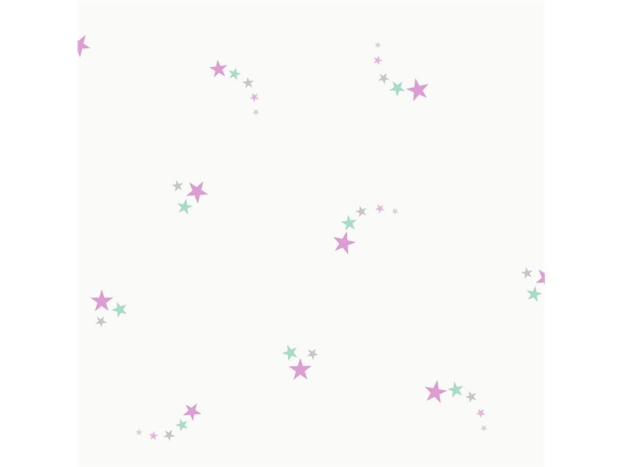 Make Believe Wallpaper Shooting Star 12591 Pink