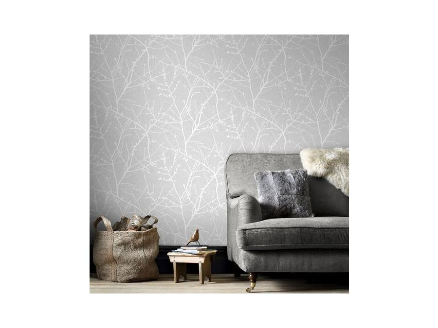 Super Fresco Easy Innocence Wallpaper 33 274 Grey