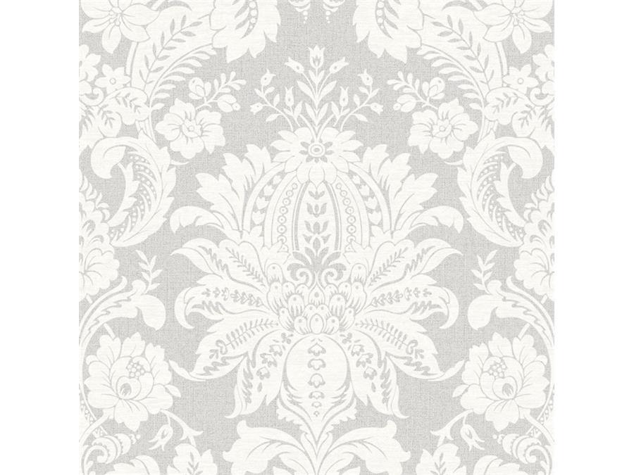 Super Fresco Easy Wallpaper Venetian Damask Grey 33 373
