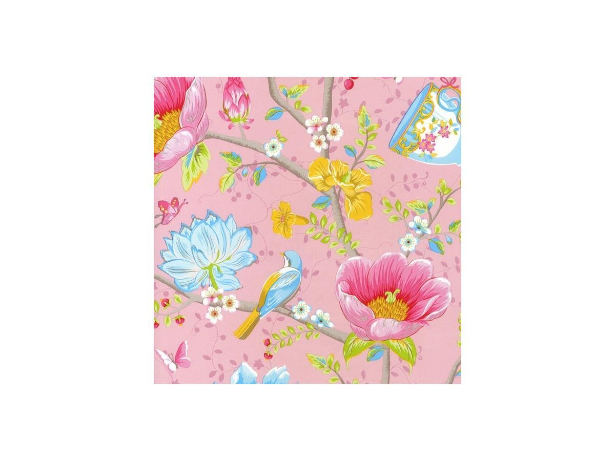 Shabby Chic Wallpaper Uk pip shabby chic wallpaper chinese garden 341001 pink