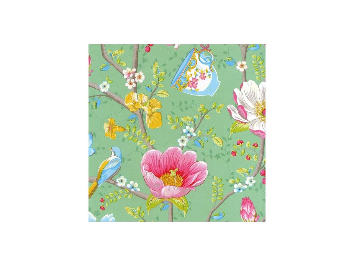 Shabby Chic Wallpaper Uk pip shabby chic wallpaper chinese garden 341005 green