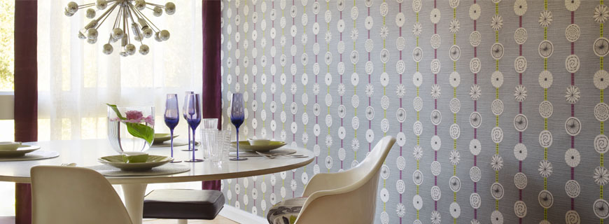 Sanderson 50u0027s Wallpaper Atomic DFIF210236 Grey/Lime Great Pictures