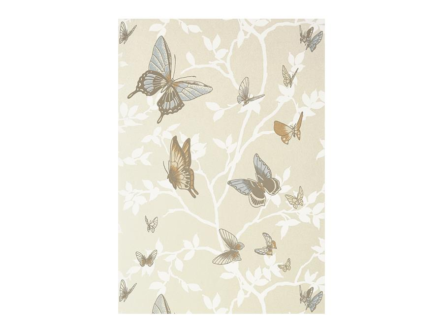 Anna French Seraphina Butterfly Wallpaper At6023 Pearl