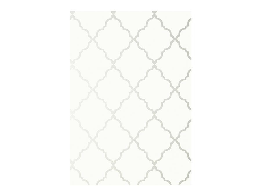 Anna French Seraphina Klein Trellis Wallpaper At6054 Off White