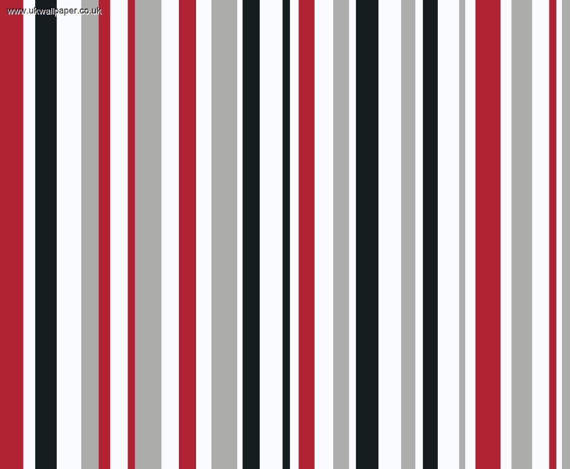 Motor Mania Stripe Wallpaper Red And Black