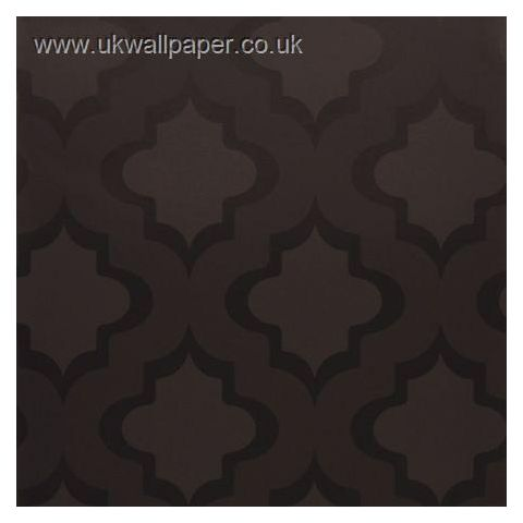 Clarke and Clarke Couture Wallpaper Kasbah Charcoal