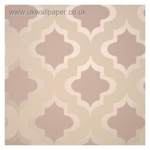 Clarke and Clarke Couture Wallpaper Kasbah Taupe