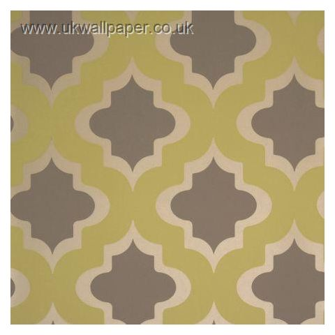 Clarke and Clarke Couture Wallpaper Kasbah Citrus