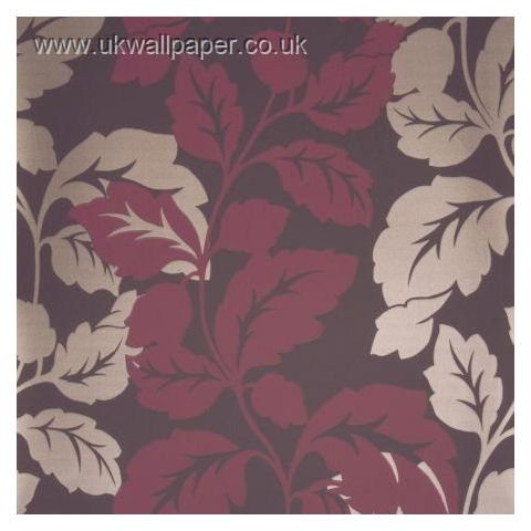 Clarke and Clarke Couture Wallpaper Ornella Damson