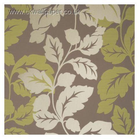 Clarke and Clarke Couture Wallpaper Ornella Citrus