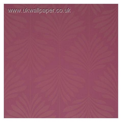 Clarke and Clarke Couture Wallpaper Vogue Cerise