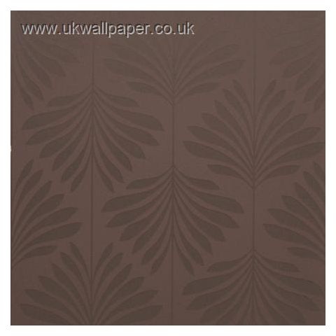 Clarke and Clarke Couture Wallpaper Vogue Espresso