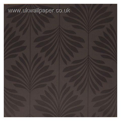 Clarke and Clarke Couture Wallpaper Vogue Charcoal