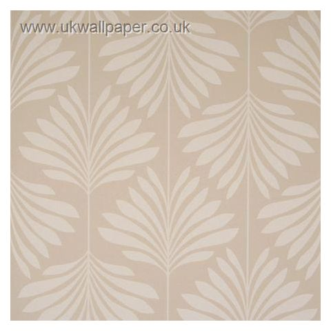 Clarke and Clarke Couture Wallpaper Vogue Taupe