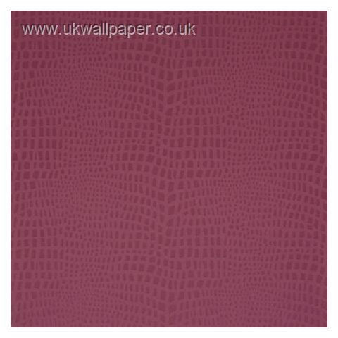 Clarke and Clarke Couture Wallpaper Strike Cerise