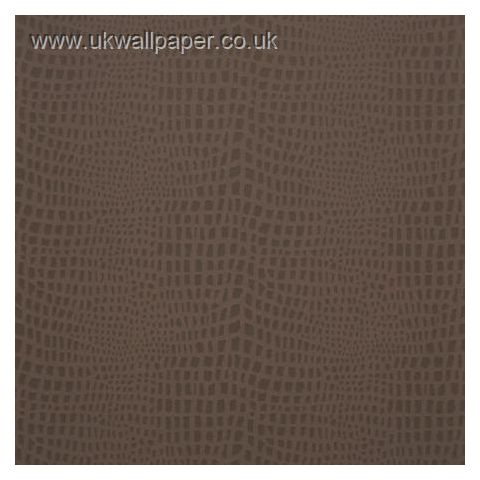 Clarke and Clarke Couture Wallpaper Strike Espresso