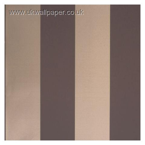 Clarke and Clarke Couture Wallpaper Bravo Stripe Espresso