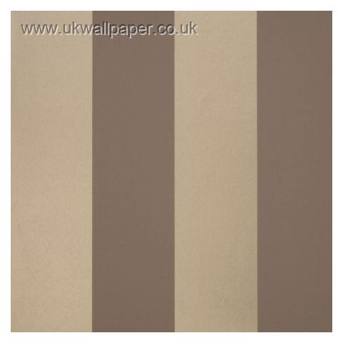 Clarke and Clarke Couture Wallpaper Bravo Stripe Mocha