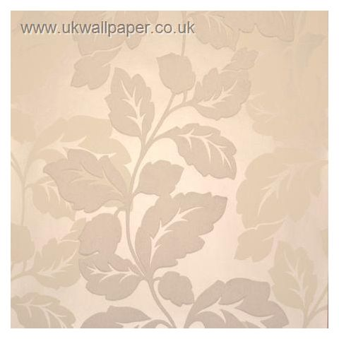 Clarke and Clarke Couture Wallpaper Ornella Flock Pearl