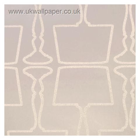 Clarke and Clarke Couture Wallpaper Lamps Pearl