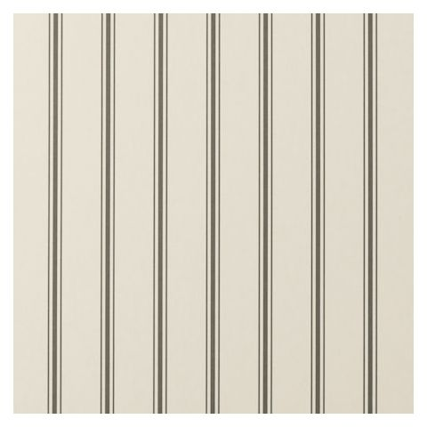 Clarke and Clarke Clarisse Wallpaper-Jolie Stripe W0029/01 Charcoal