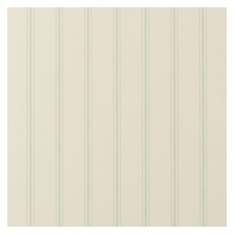 Clarke and Clarke Clarisse Wallpaper-Jolie Stripe W0029/02 Duckegg