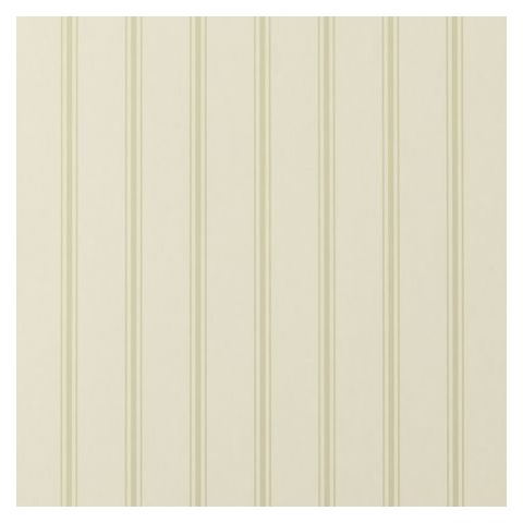 Clarke and Clarke Clarisse Wallpaper-Jolie Stripe W0029/07 Sage