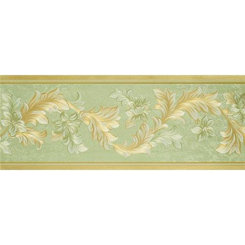 Traditional Classic Floral Border 00303