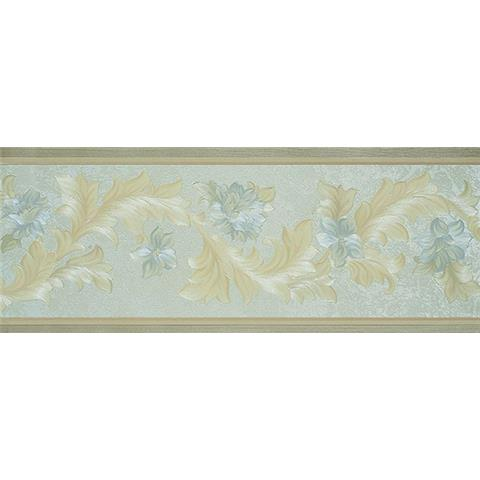 Traditional Classic Floral Border 00308