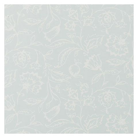 Clarke and Clarke Clarisse Wallpaper-Marie Floral W0031/02 Duckegg