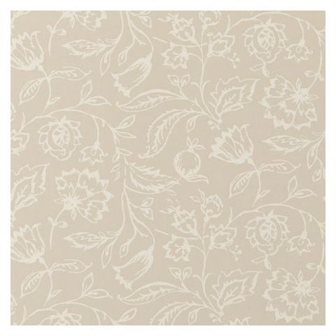 Clarke and Clarke Clarisse Wallpaper-Marie Floral W0031/04 Linen