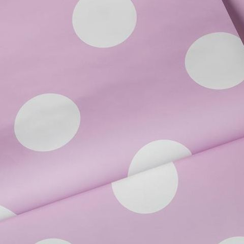 Graham and Brown Dotty Wallpaper Pink 100101