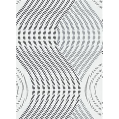 Fashion For Walls Wallpaper 10045-10 black and white