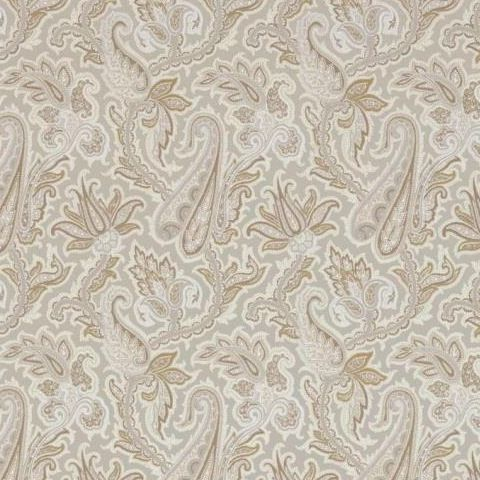 Thibaut Menswear Resource Winchester Paisley Wallpaper T1017 Grey and Camel