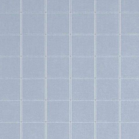 hibaut Menswear Resource Henley Plaid Wallpaper T1022 Blue