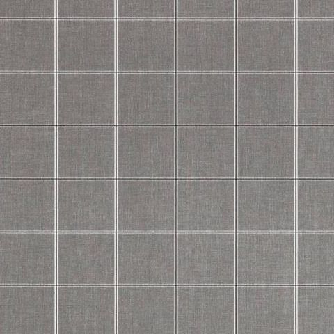hibaut Menswear Resource Henley Plaid Wallpaper T1025 Charcoal