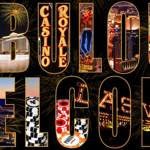 Letters From Las Vegas Wallpaper-102525