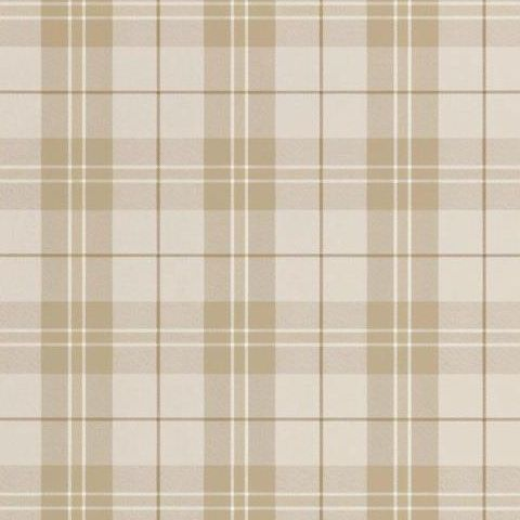 Thibaut Menswear Resource Winslow Plaid Wallpaper T1026 Grey and Camel