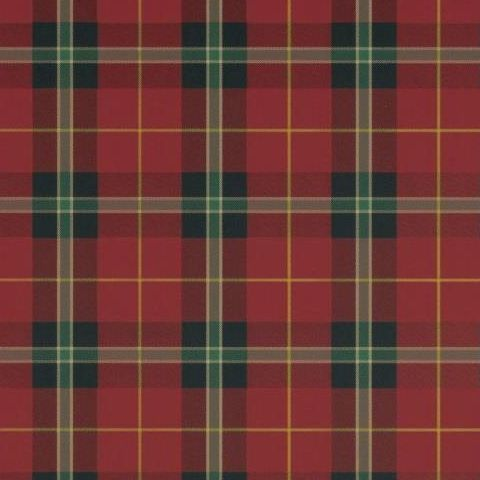 Thibaut Menswear Resource Winslow Plaid Wallpaper T1029 Red