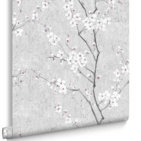 Graham and Brown Boutique Kyoto Wallpaper-Sakura 102959