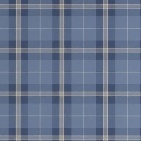 Thibaut Menswear Resource Winslow Plaid Wallpaper T1030 Navy