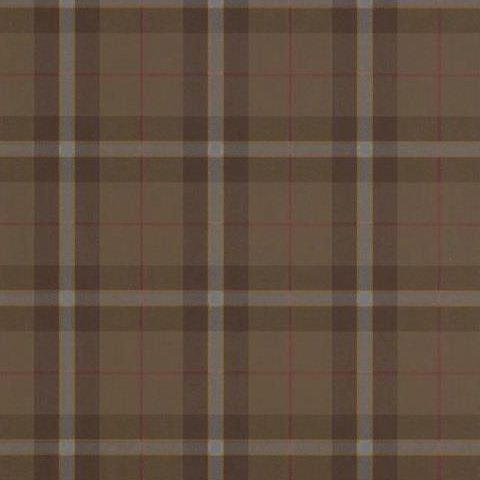 Thibaut Menswear Resource Winslow Plaid Wallpaper T1031 Chestnut