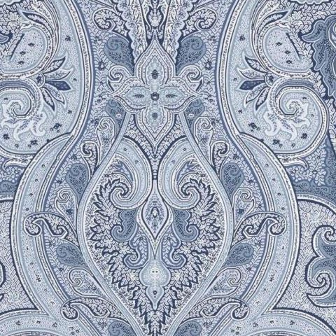hibaut Menswear Resource Patani Wallpaper T1034 Blue