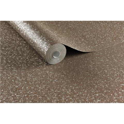 Evita Boutique Vinyl Wallpaper Confetti 104772 Chocolate/Rose Gold