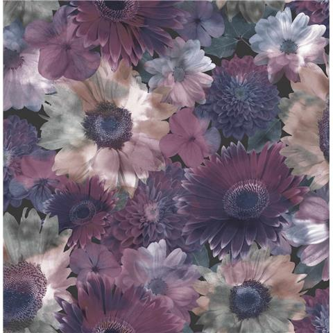 Super fresco Easy wallpaper midnight garden 104895