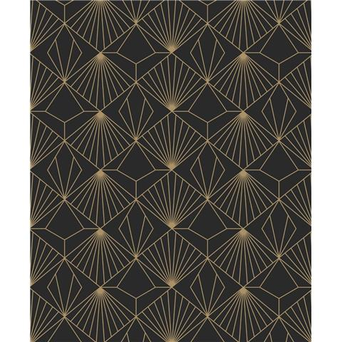 Super Fresco Easy kabuki wallpaper Diamond art deco 105978