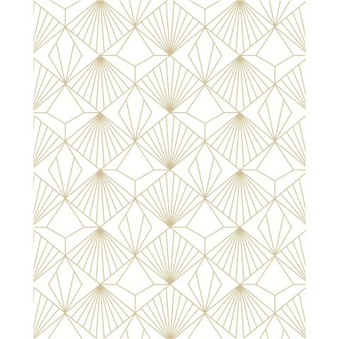 Super Fresco Easy kabuki wallpaper Diamond art deco 105979